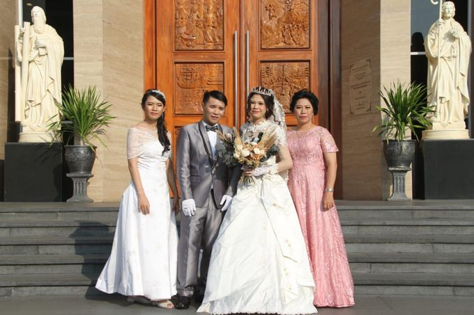 Wedding of Jonathan & Christiana by Lavish Flower - 001