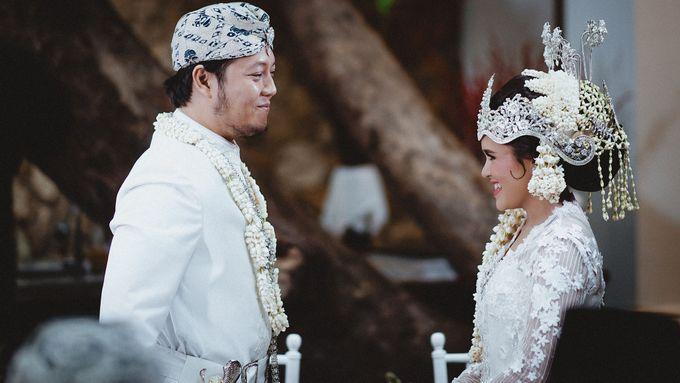 Cempaka Dimaz Wedding by WIT Wear It Too - 012