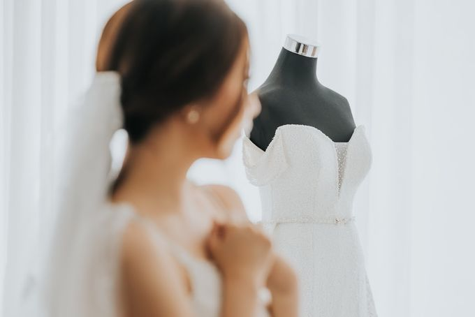 Morning Preparation Shoot by Cloche Atelier - 005