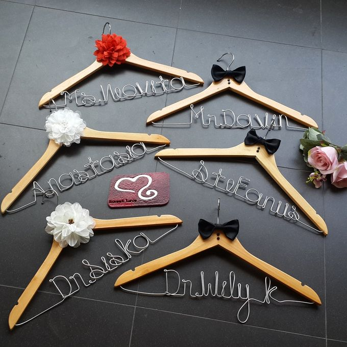 Wedding Hanger Name by Sweetlovecollection - 034