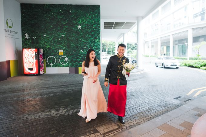 Wedding Day of Cheryl and Bobby at UNA at One Rochester Singapore by oolphoto - 008