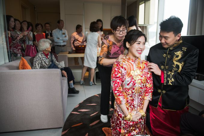 Wedding Day of Cheryl and Bobby at UNA at One Rochester Singapore by oolphoto - 013
