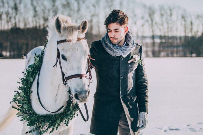 Wedding In Gzhel Style by Marina Nazarova Photographer - 021