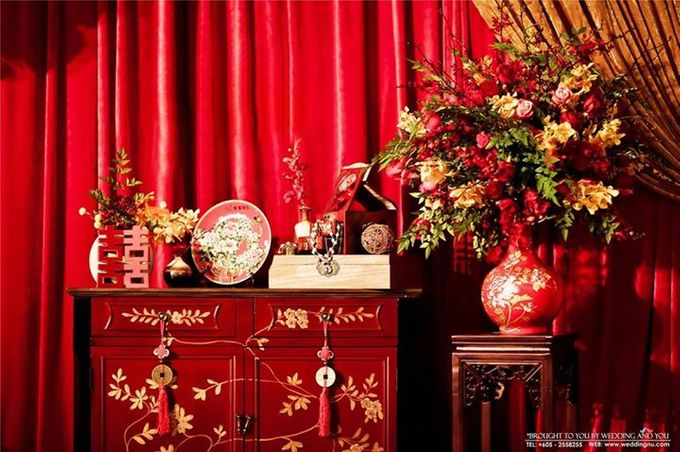 Oriental Wedding Decoration Theme by Wedding And You - 046