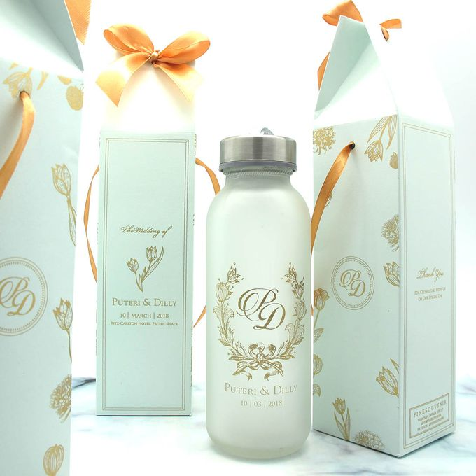 Frosted Drinking Bottle Jumbo Include Packaging by Fine Souvenir - 001