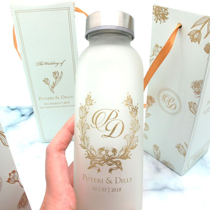 Frosted Drinking Bottle Jumbo Include Packaging by Fine Souvenir - 003
