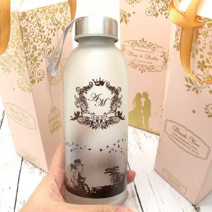 Drinking Bottle Jumbo Include Paperbag by Fine Souvenir - 002