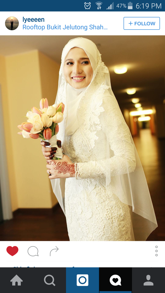 Nikah Wedding Dress by Emma Wedding - 017