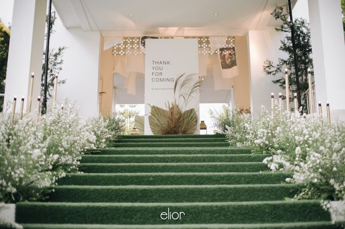 The Wedding of Budiman and Eunike by Elior Design - 037