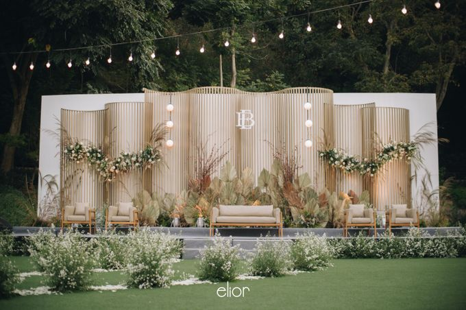 The Wedding of Budiman and Eunike by Elior Design - 038