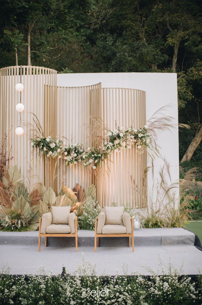 The Wedding of Budiman and Eunike by Elior Design - 042