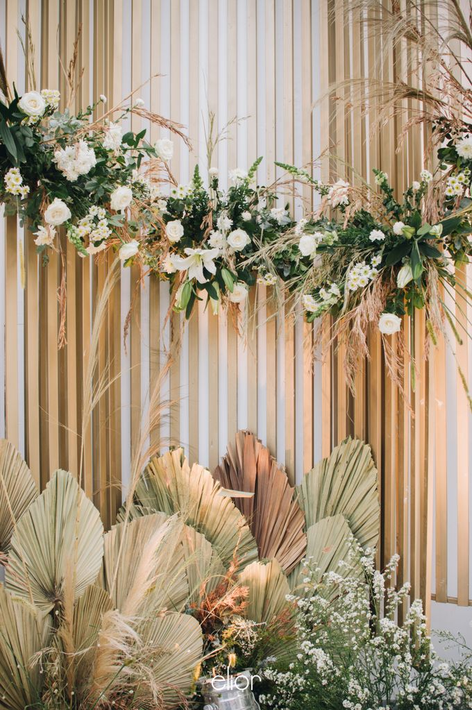 The Wedding of Budiman and Eunike by Elior Design - 043