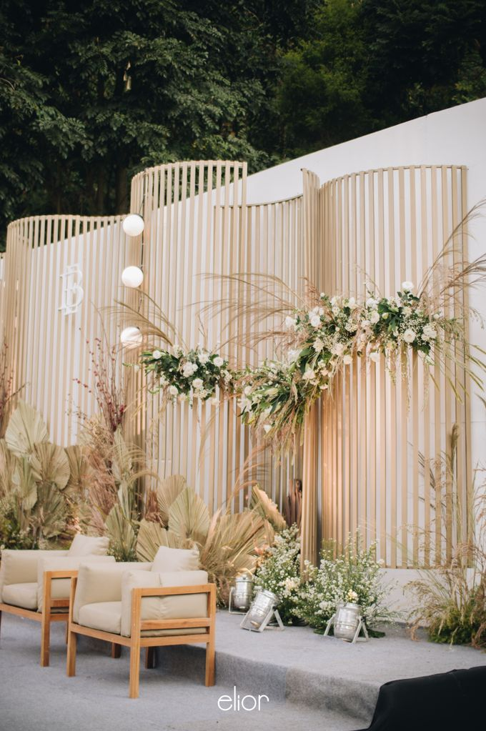 The Wedding of Budiman and Eunike by Elior Design - 044