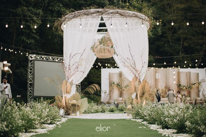The Wedding of Budiman and Eunike by Elior Design - 045