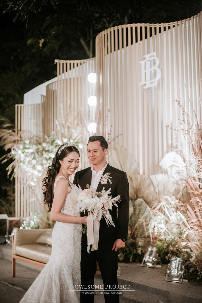 The Wedding of Budiman and Eunike by Elior Design - 028