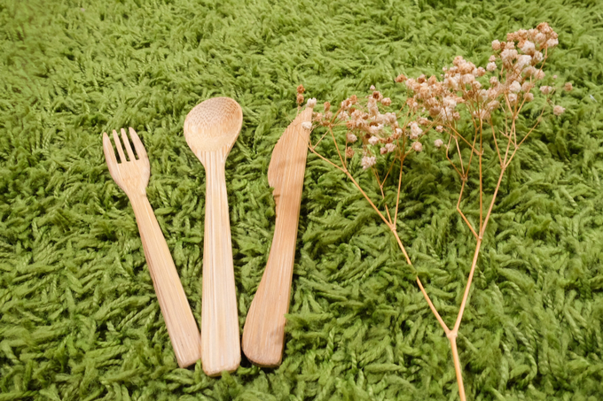 BUMI's Bamboo Cutlery Set by Bumi - 005