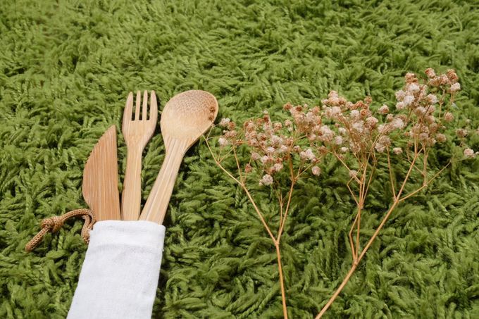 BUMI's Bamboo Cutlery Set by Bumi - 004