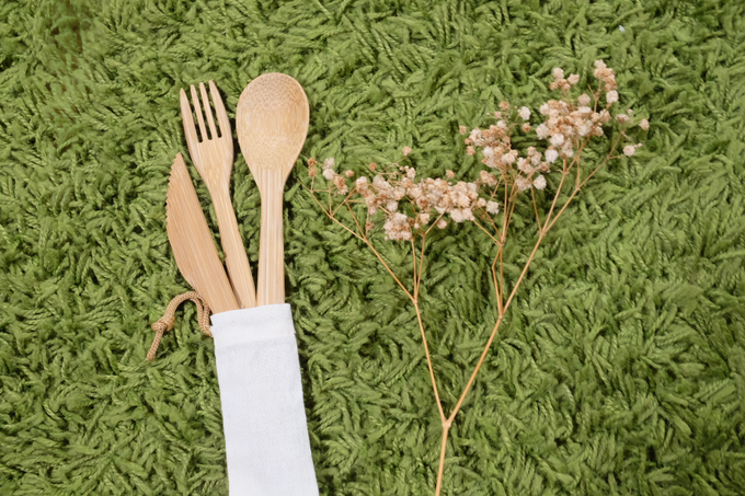 BUMI's Bamboo Cutlery Set by Bumi - 003