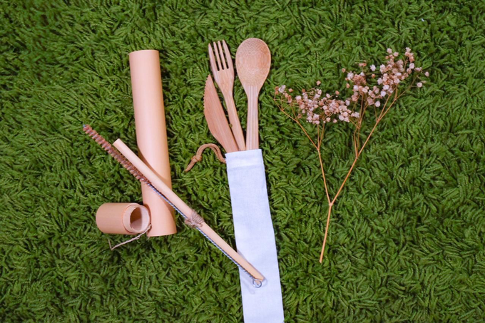 BUMI's Bamboo Cutlery Set by Bumi - 001