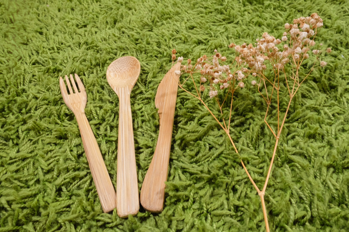 BUMI's Bamboo Cutlery Set by Bumi - 006