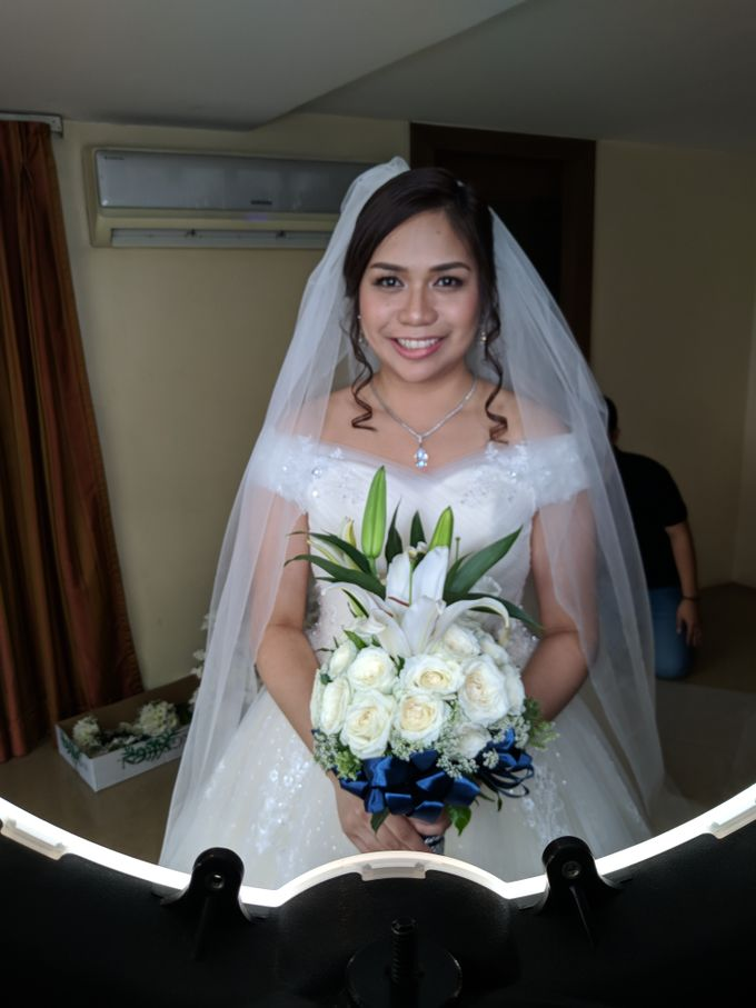 Dianne Baetiong & Tyrone Magsalin Wedding by Magic Touch by Klick Victoria - 003