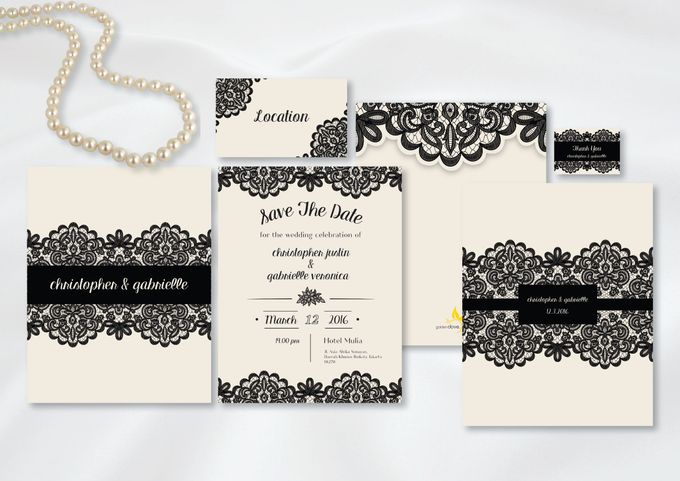Wedding Invitation by Golden Dove - 002