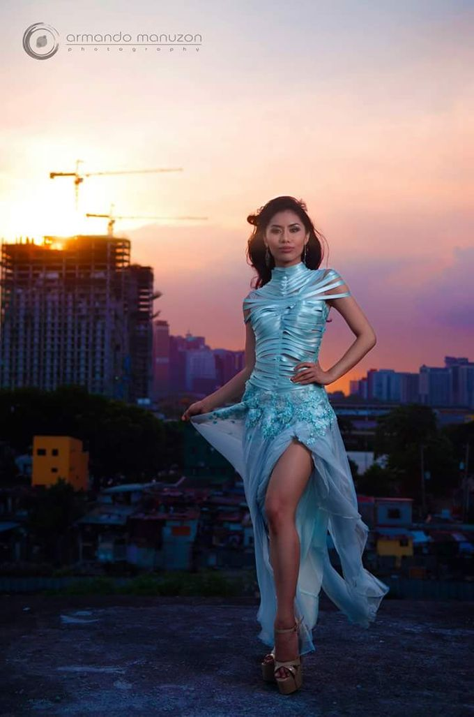 Miss Philippines Earth 2016 Candidate: KC Reyes by Gale Dy Make Up Artistry - 003