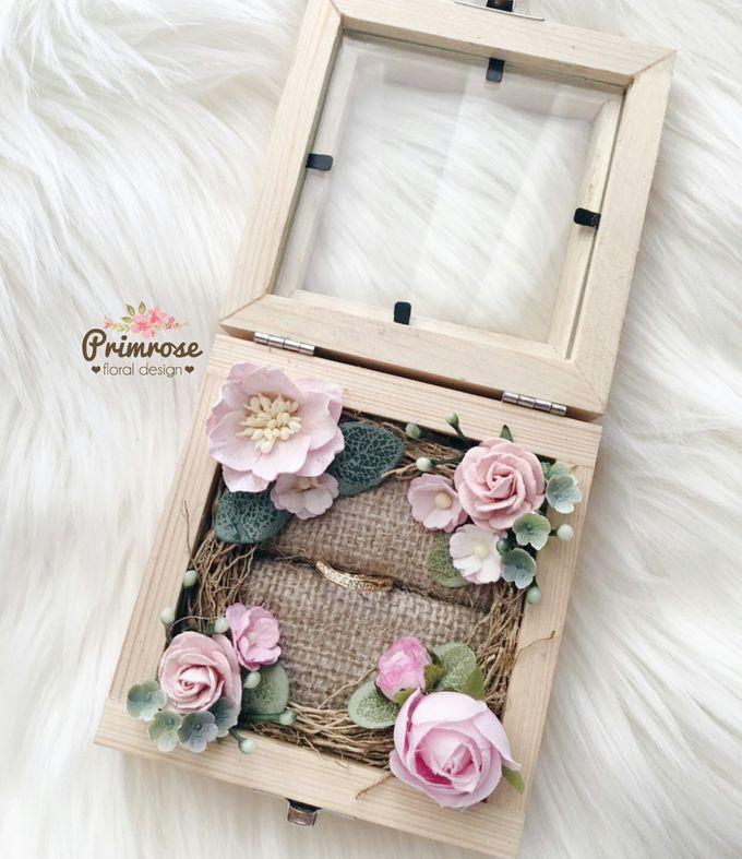 Wedding Ring Box by Primrose Floral Design - 026