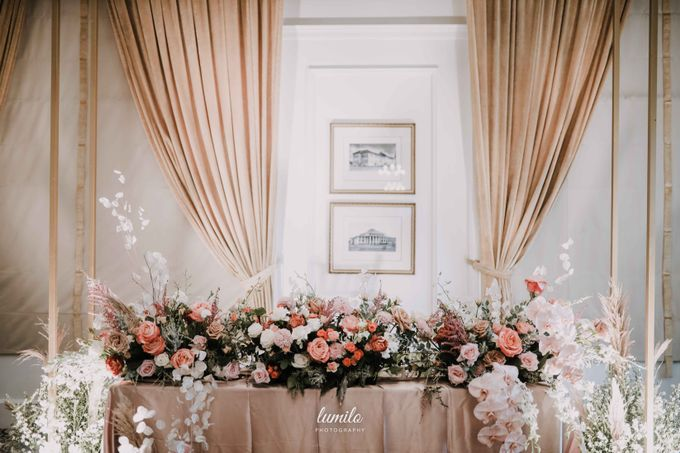 Filipo & Margareth Widding at The Hermitage Jakarta by Lumilo Photography - 013
