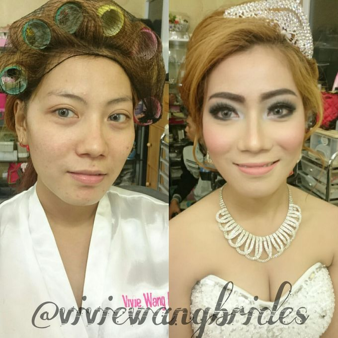 BEFORE AND AFTER by Vivie Wang Brides - 020