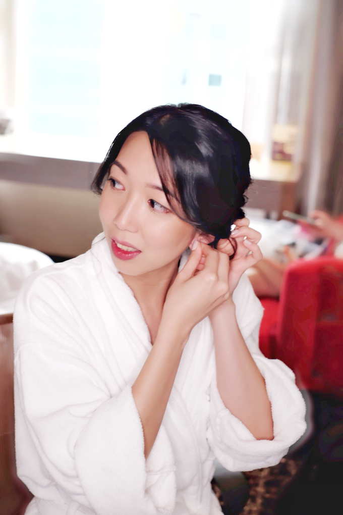 Bridal makeup and hair by Carlton Hotel Singapore - 001