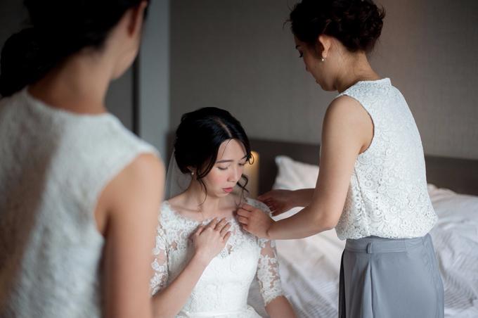 Bridal makeup and hair by Carlton Hotel Singapore - 005