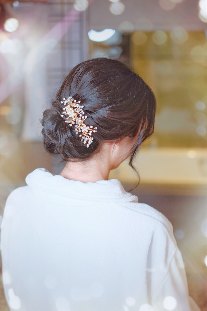 Bridal makeup and hair by Carlton Hotel Singapore - 002