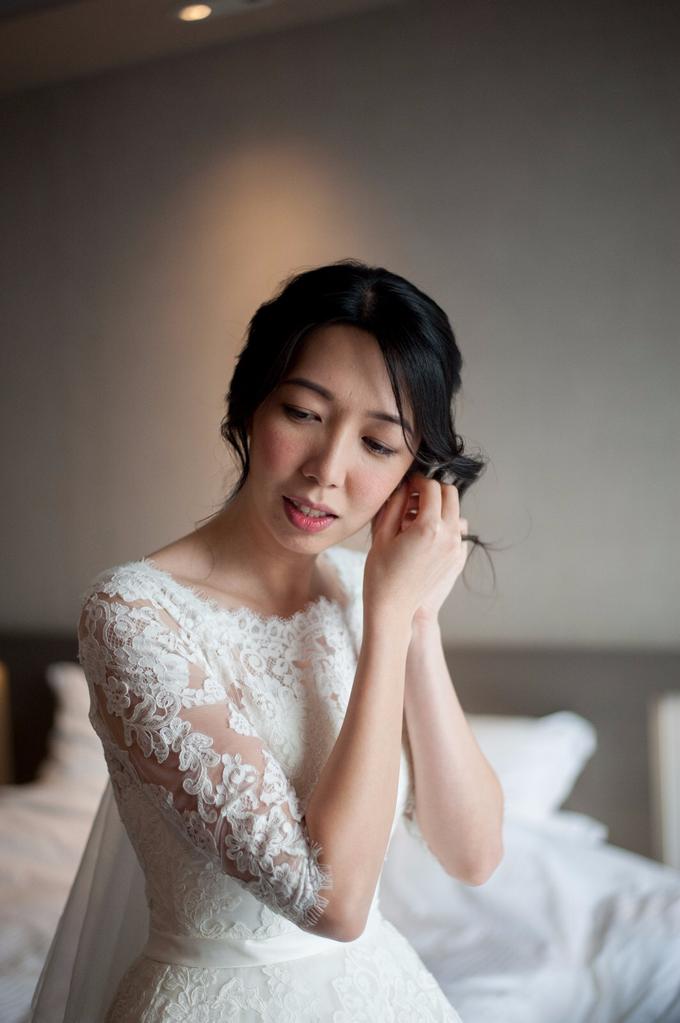 Bridal makeup and hair by Carlton Hotel Singapore - 007