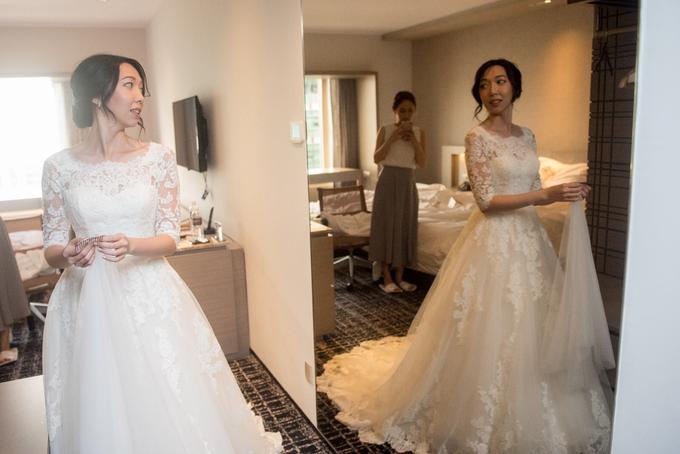 Bridal makeup and hair by Carlton Hotel Singapore - 006