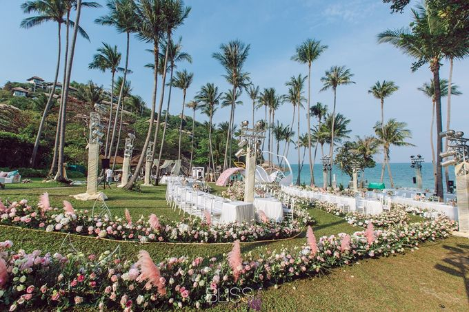 Wonderful wedding at Banyan Tree Koh Samui by BLISS Events & Weddings Thailand - 025