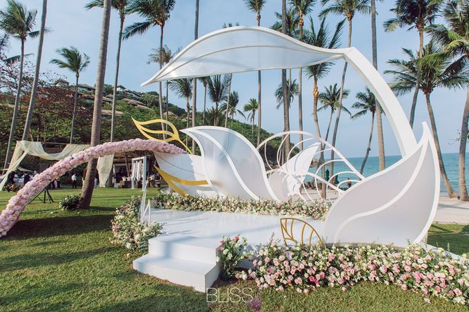 Wonderful wedding at Banyan Tree Koh Samui by BLISS Events & Weddings Thailand - 027