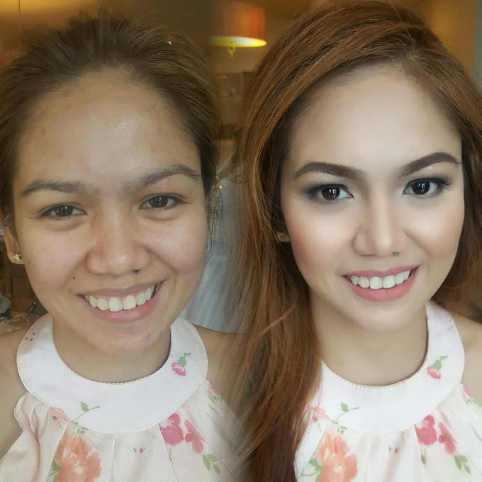 Before And After by Makeup by Marjorie - 001