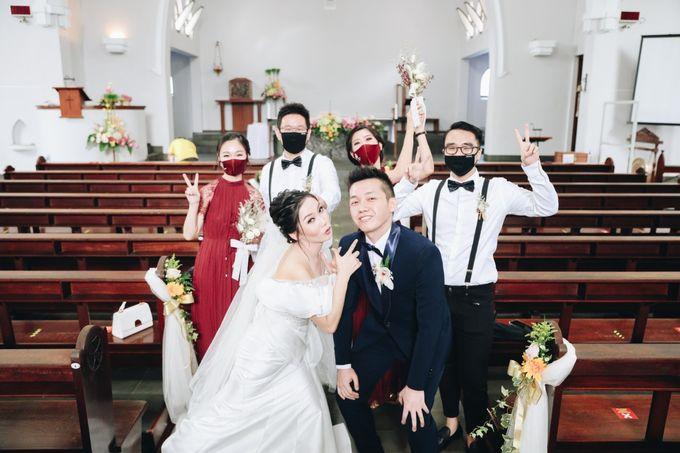 William & Selvi Wedding at Hilton Hotel by PRIDE Organizer - 020