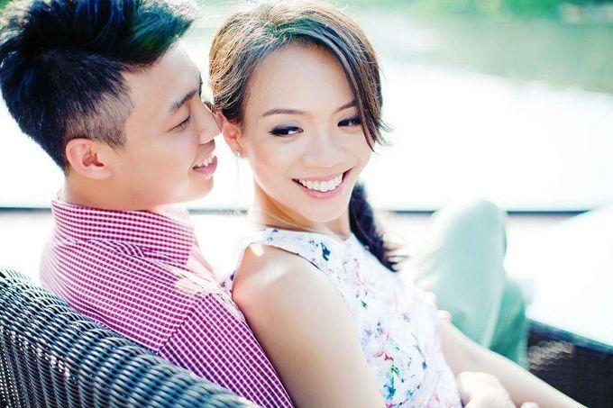 Pre Wedding Shoot ♥Daryl & Iris by Gin Tan makeup artist - 006