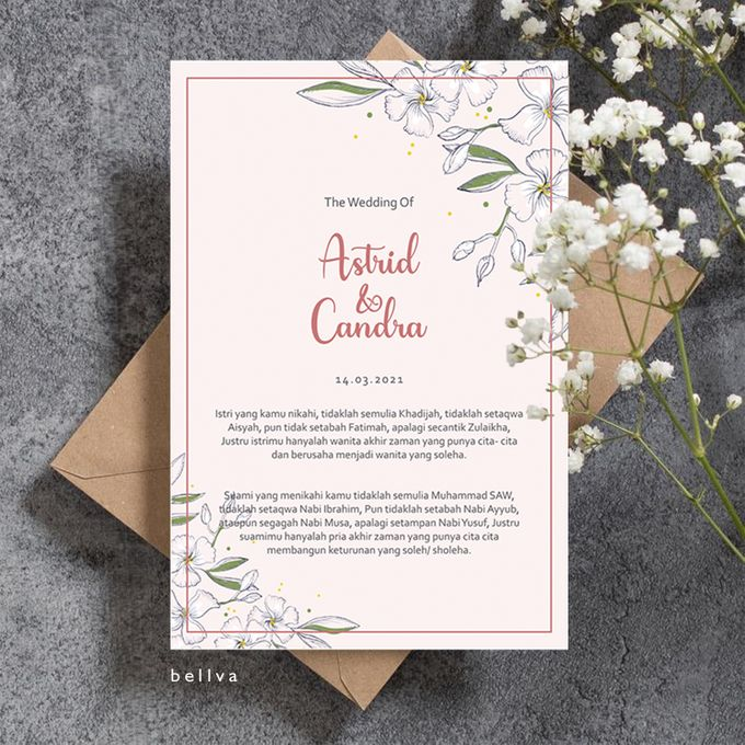 Astrid & Candra by Bellva Invitation - 001
