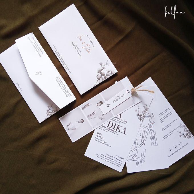 Rustic Wedding Invitation by Bellva Invitation - 001
