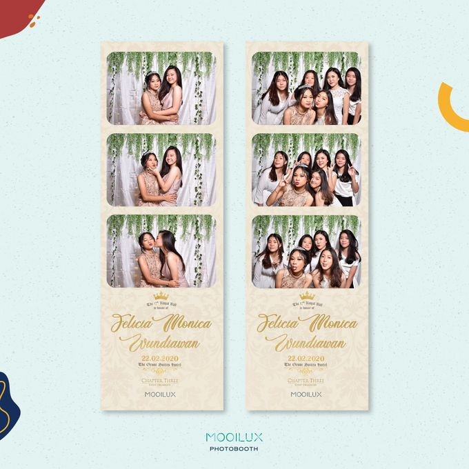 Felicia Monica Birthday Party by Mooilux Photobooth - 002