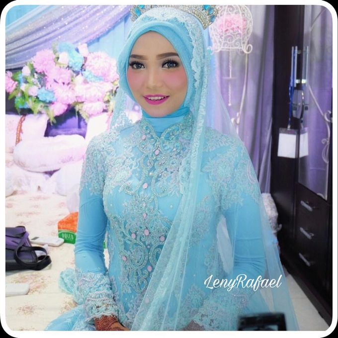 Weddinggown moslem by Leny Rafael Bride - 009