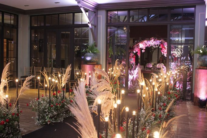 MC Wedding Intimate Suasana Restaurant Jakarta - Anthony Stevven by Anthony Stevven - 005