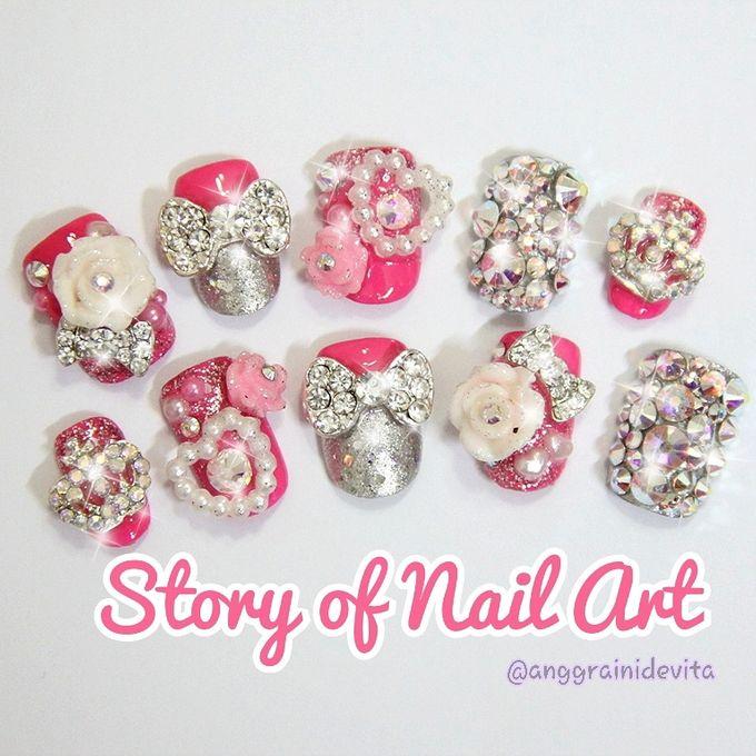 Fake Nails by Story of Nailart - 010
