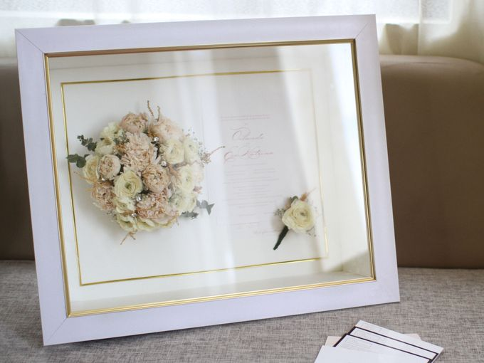 Classy and Elegant Blush Bouquet by Camila V Flower Preservation Studio - 004