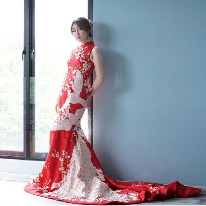 Cheongsam Embroidery - GV HERITAGE by GV by Gabriella Vania - 029
