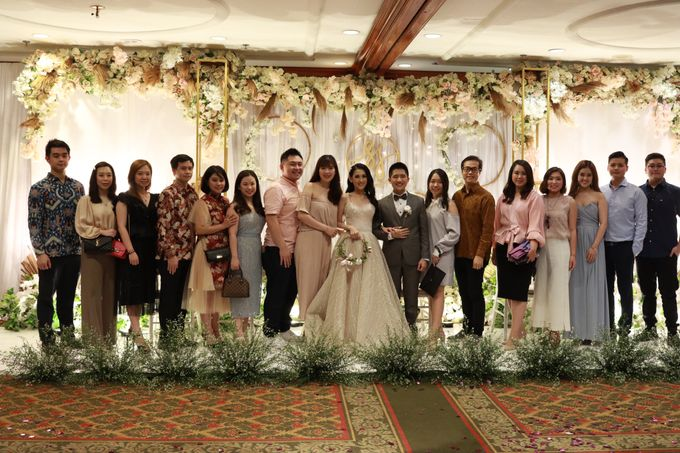 MC Intimate Wedding At Mercantile Jakarta - Anthony Stevven by tanmell makeup - 002