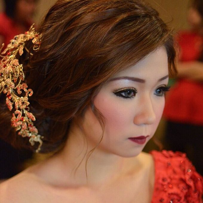 Bridal Make Up by Mimi kwok makeup artist - 015